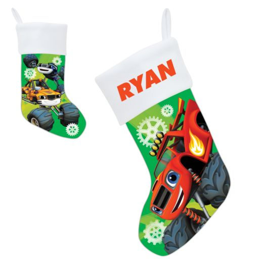 Blaze and the Monster Machines Holiday Heroes Stocking