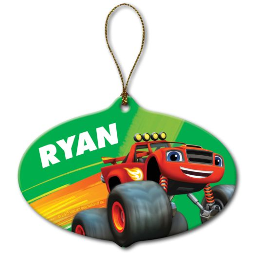 Blaze and the Monster Machines Holiday Hero Ornament