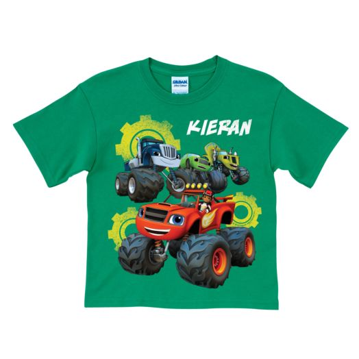 Blaze and the Monster Machines Team Green T-Shirt
