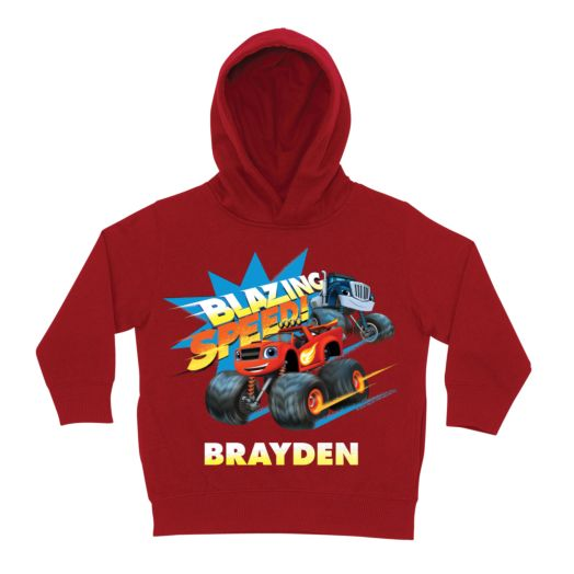 Blaze and the Monster Machines Blazing Red Toddler Hoodie
