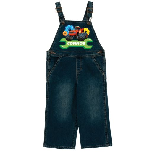 Blaze and the Monster Machines Trusty Tools Denim Overalls