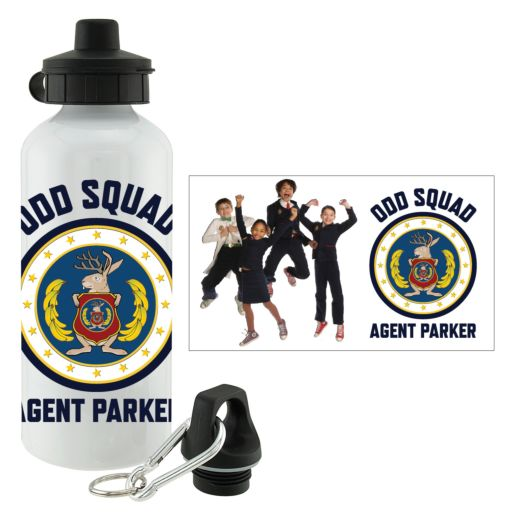 Odd Squad Agent Group Water Bottle