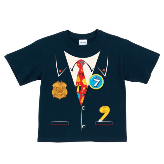 Odd Squad Birthday Agent Navy T-Shirt