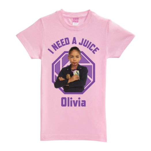 Odd Squad Ms. O Pink Fitted Tee