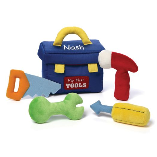 Personalized GUND My First Toolbox Playset