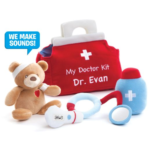 Personalized GUND My First Doctors Kit Playset
