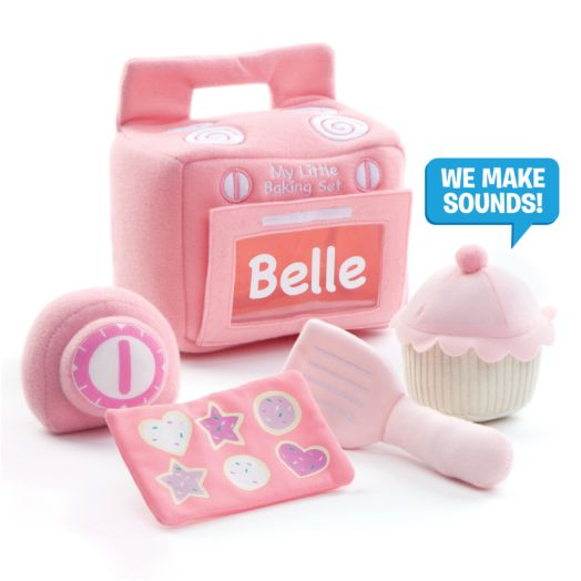 Personalized GUND My Little Baking Playset
