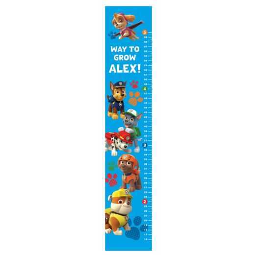 PAW Patrol Easy-Move Canvas Growth Chart