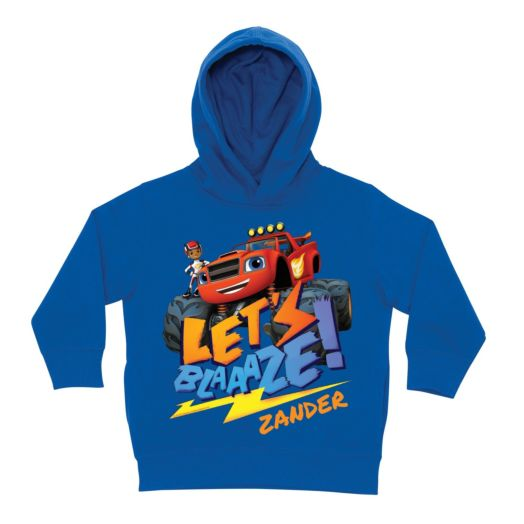 Blaze and the Monster Machines Royal Blue Toddler Hoodie