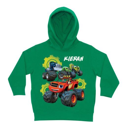 Blaze and the Monster Machines Team Green Toddler Hoodie