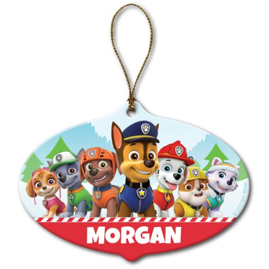 PAW Patrol Holiday Pups Ornament