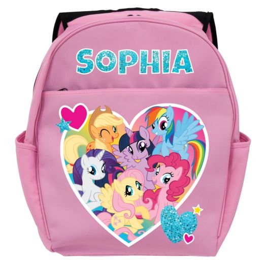 My Little Pony Friendship is Magic Pink Toddler Backpack