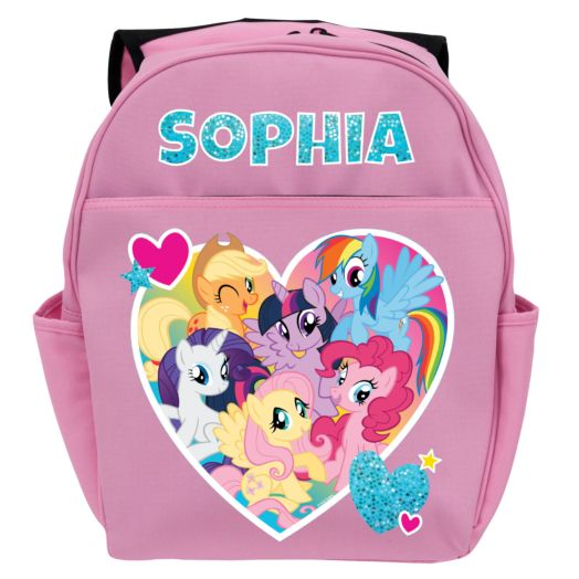 My Little Pony Friendship is Magic Pink Youth Backpack