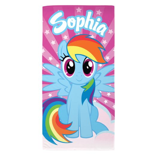 My Little Pony Rainbow Dash Beach Towel