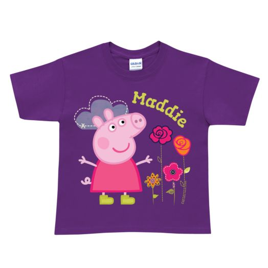 Peppa Pig Pretty Purple T-Shirt