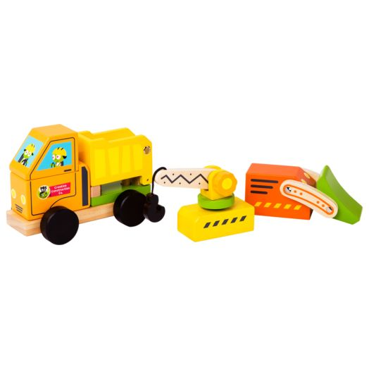 PBS KIDS Creative Construction 3-in-1 Construction Vehicle