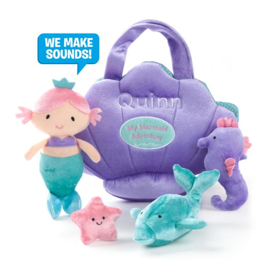 Personalized GUND Mermaid Activty Play Set
