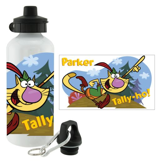 Nature Cat Tally-ho Water Bottle