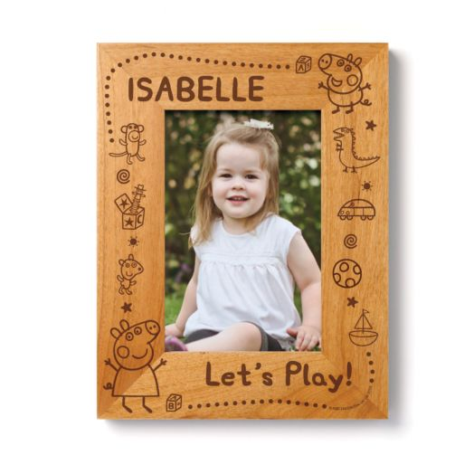 Peppa Pig Let's Play Wood Frame