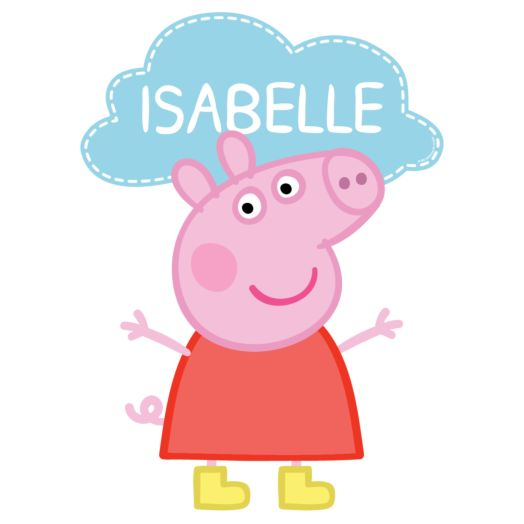 Peppa Pig Easy-Move Canvas Decal