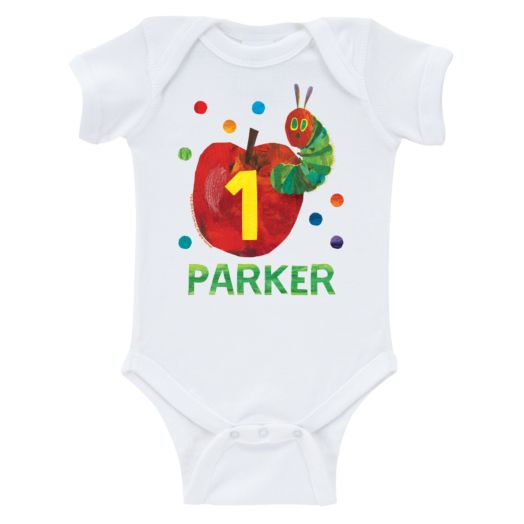 Very Hungry Caterpillar Birthday Infant Bodysuit
