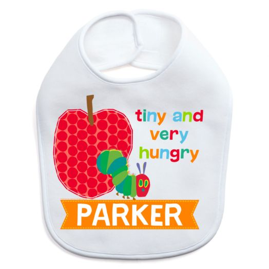 Very Hungry Caterpillar Tiny and Hungry Personalized Bib