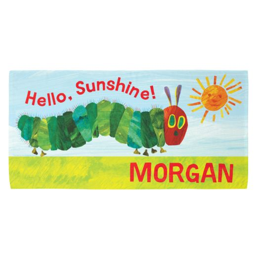 Very Hungry Caterpillar Hello Sunshine Beach Towel