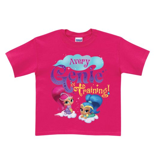 Shimmer and Shine Genie in Training Hot Pink T-Shirt