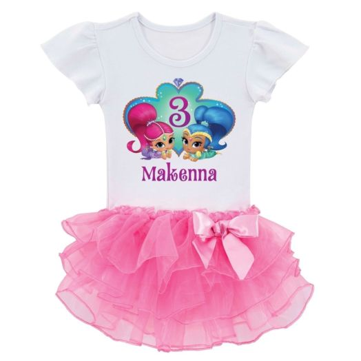 Shimmer and Shine Birthday Wish Tutu Tee