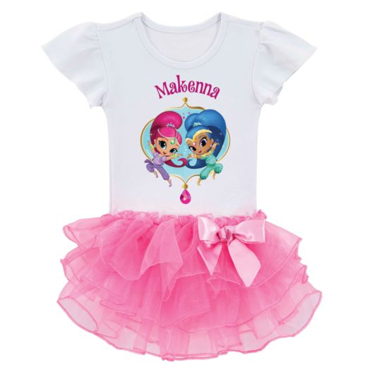 Shimmer and Shine Dazzling Duo Tutu Tee