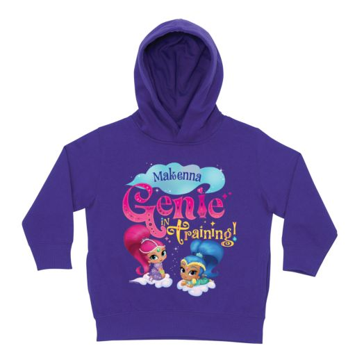 Shimmer and Shine Genie in Training Purple Toddler Hoodie