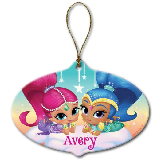 Shimmer and Shine Make it Sparkle Ornament