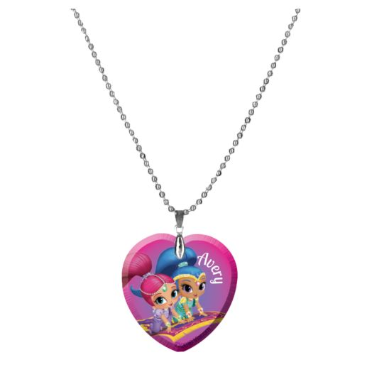 Shimmer and Shine Be Dazzling Heart Necklace