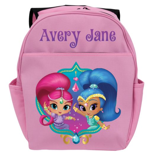 Shimmer and Shine Twinsies Pink Toddler Backpack