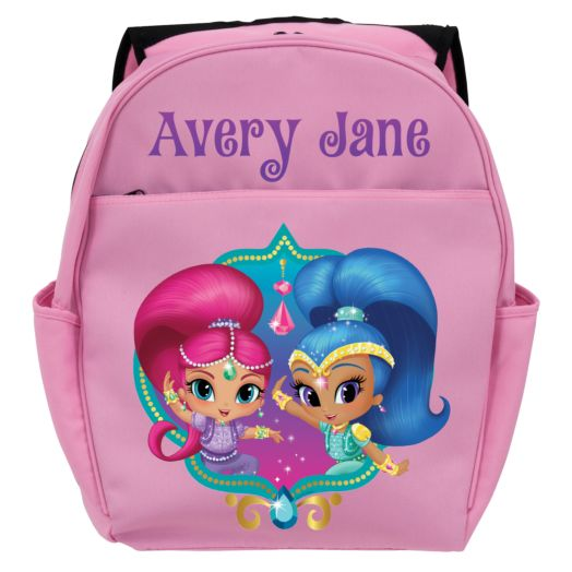 Shimmer and Shine Twinsies Pink Youth Backpack