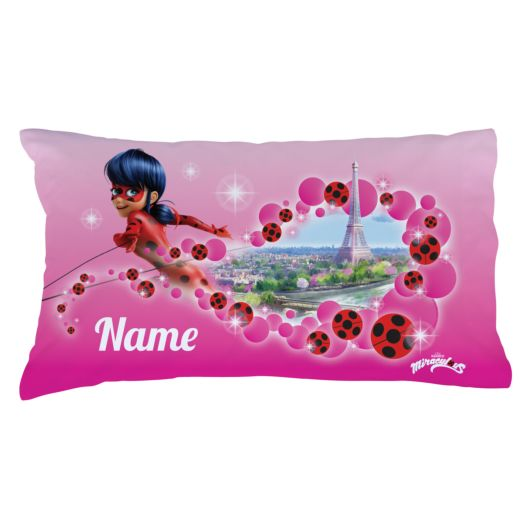 Personalized Miraculous Ladybug Paris Pillowcase