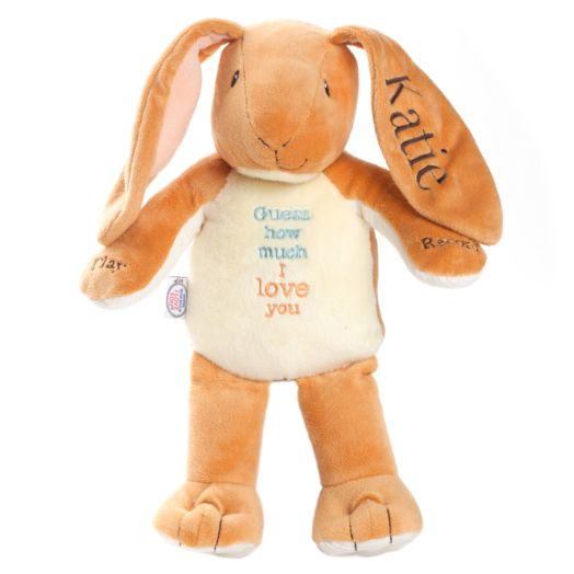 Personalized Guess How Much I Love You Recordable Plush