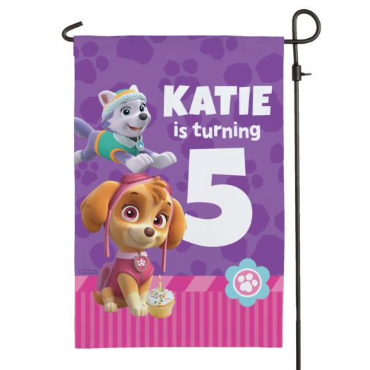 PAW Patrol Party Pups Birthday Flag
