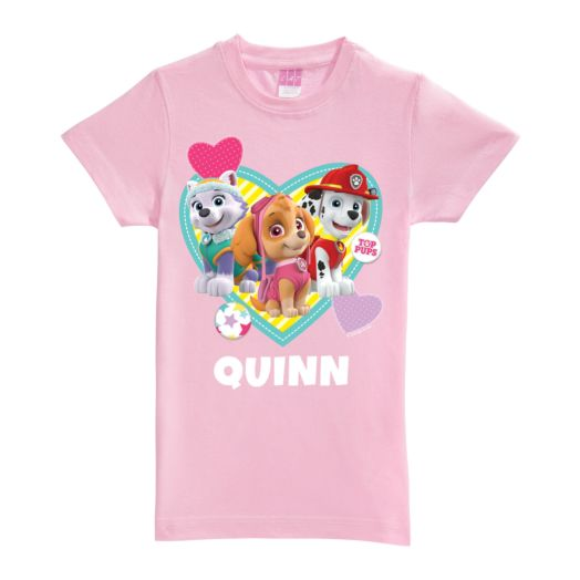 Paw Patrol Pawfect Pup Pink Fitted Tee