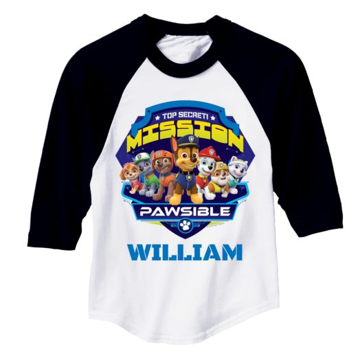PAW Patrol Mission Pawsible Jersey Tee