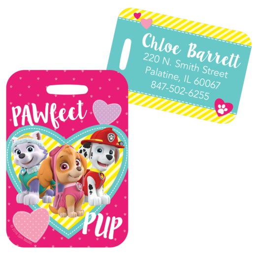 PAW Patrol Pawfect Pup Backpack Tag