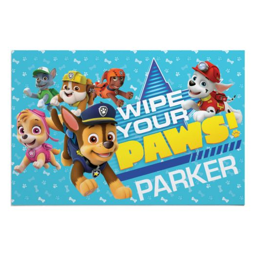 PAW Patrol Wipe Your Paws Doormat