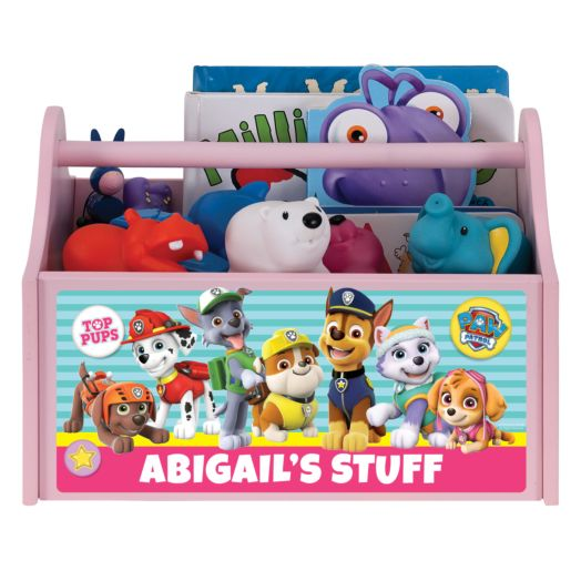 PAW Patrol Pawfect Pals Pink Toy Caddy