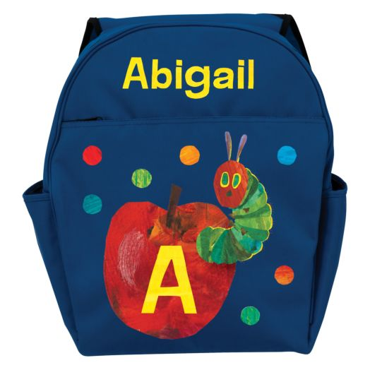 Very Hungry Caterpillar Initial Blue Toddler Backpack
