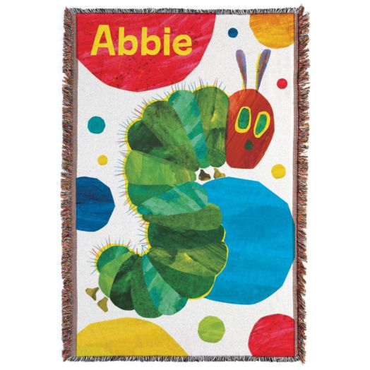 Very Hungry Caterpillar Polka Dots Throw