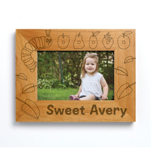 Very Hungry Caterpillar Wood Picture Frame