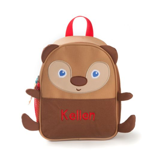 Personalized Brown Bear Lunchbag