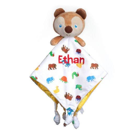 Personalized Brown Bear Blankey