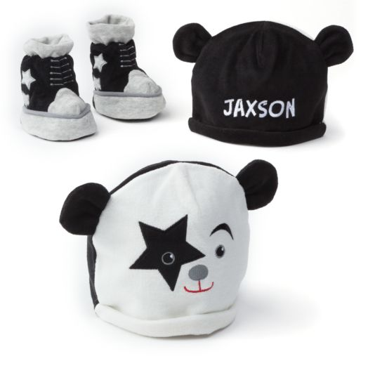 Personalized First Kiss Startchild Cap & Bootie