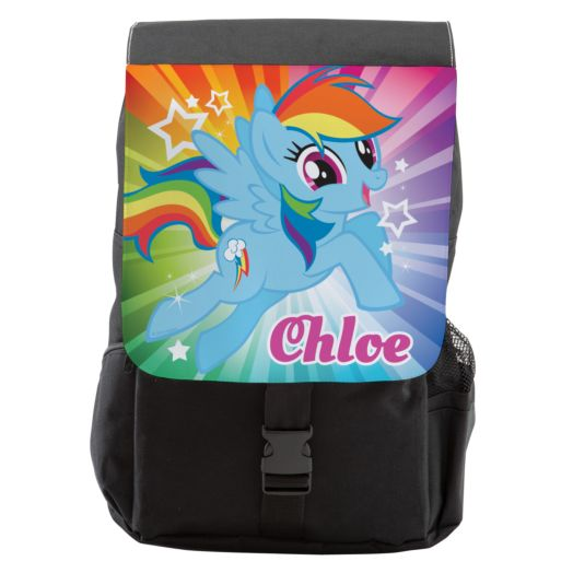 My Little Pony Rainbow Dash Front Flap Youth Backpack